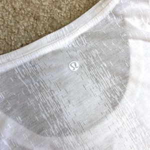 Lululemon Burn-Out Long Sleeve Top
